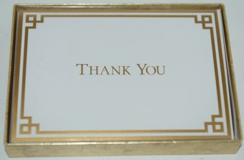 Caspari 85604 48 Thank You Cards and White Envelopes Package 6