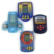 Battleship Hangman Tic Tac Toe Handheld Video Arcade Games Lot of 4 Batt... - $24.74