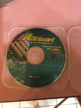 Mainboard PC CD with PC-Cillin software bundled Tested Ships N 24h - $54.33
