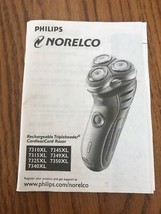 Philips NORELCO Instructions Only Ships N 24h - $8.04