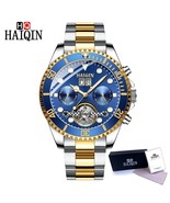 HAIQIN Luxury Men Watch Mechanical watch Tourbillon Automatic Stainless ... - $80.60