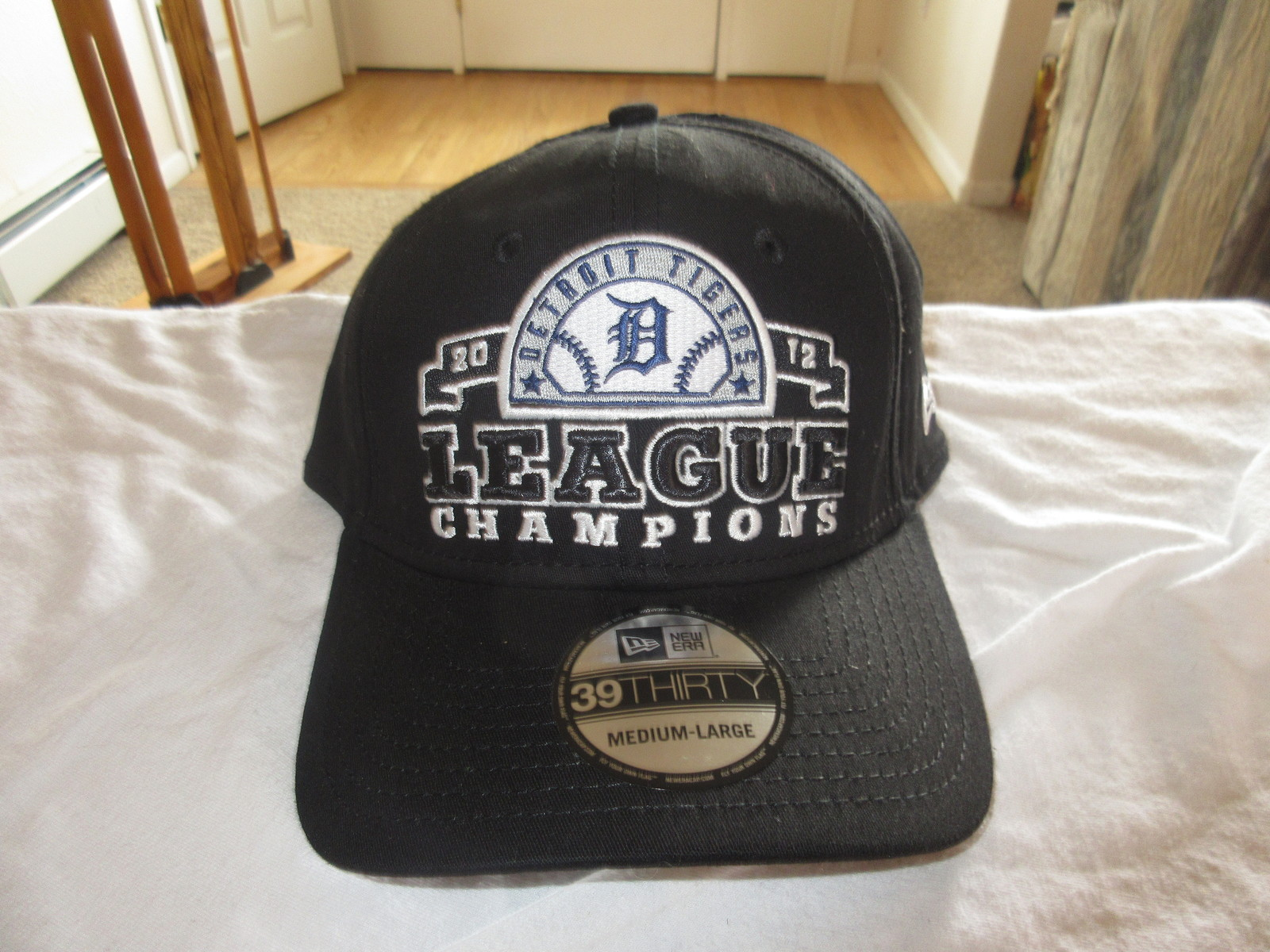 Detroit Tigers 2012 League Champions New Era 39 Thirty Fitted Team Hat