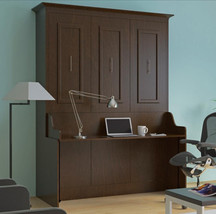 Coventry Queen Wall Bed with Desk - £1,721.86 GBP