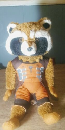 Primary image for Marvel Guardians of the Galaxy 16'' Rocket Raccoon Plush Doll Disney Avengers