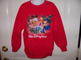 Disney Red Walt Disney World Sweatshirt Size S Boy's/Girl's EUC - $19.80