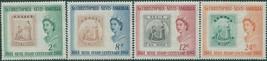 St Kitts-Nevis 1961 SG123-126 Stamp Centenary set MLH - $1.01