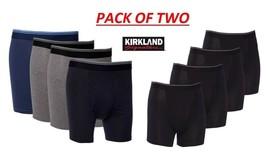 Kirkland signature Men's 2 Pack Pima Cotton Boxer Briefs , Only 2 Boxers - $9.49