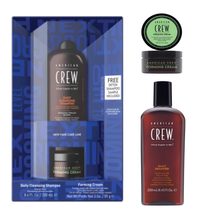 American Crew Father's Day Duo, Classic Forming Cream, Daily Shampoo