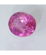 Rose Pink Spinel Faceted Oval 7.3 x 6.2 mm Sparkling Burma Gemstone 1.03... - £32.80 GBP