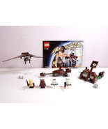 Lego Star Wars Episode IV-VI Ewok Attack 7139 Complete with 4 Minifigs - $44.95