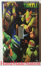 Teenage Ninja turtles Light Switch Outlet Duplex wall Cover Plate Home decor image 3
