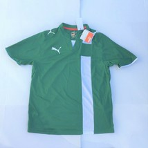 Youth XL Puma Lyon Shirt Green Soccer Jersey NEW - $13.30