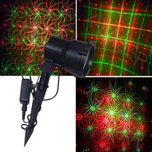 outdoor RGB garden Christmas 8 flower Christmas moving outdoor landscape  laser - $122.00