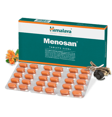 Primary image for Himalaya Menosan -Helps alleviate climacteric (menopausal) symptoms - 60 Tablets