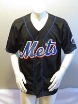 Vintage New York Mets Jersey - Original Black Jersey by Russell Athletic -Mens L - $95.00