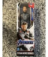 Marvel Avengers: Endgame Titan Hero Power FX Series Thor 12-Inch Action ... - $14.80