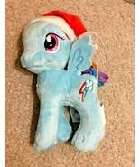 "My Little Pony Rainbow Dash in Santa Hat Christmas 5"" Plush Toy Stocking... - $8.99"
