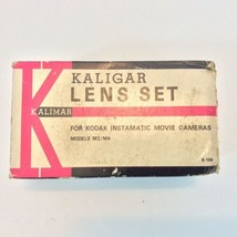 Vintage Kaligar Lens Set Kodak Instamatic Movie Cameras M2/m4 - $12.38