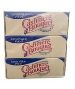 Vintage Cashmere Bouquet Classic Fragrance Mild Beauty Soap 4oz 3 Bars NOS - $29.69