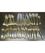 Royal Gallery Gold Allegro Service for 10 Plus Extras 62 pieces total - $98.99