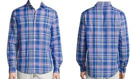 Polo Ralph Lauren Men's Plaid Poplin Shirt , Blue\White, Size S, MSRP $89.5 - $49.49
