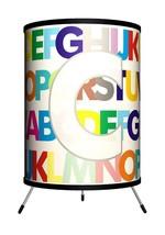 """LAMP-IN-A-BOX Letter C Tripod ABC's Lamp 8"""" x 8"""" X 14"""" NEW TRI-MNG-MODRC - $9.75"""