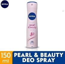 NIVEA Deodorant Pearl Beauty Spray 150ml-Effective anti-perspirant prote... - $19.79