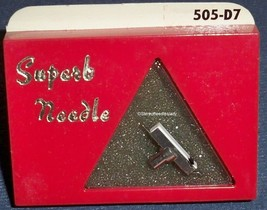 SUPERB Diamond Needle 505-D7 Stereo and Mono for GE VR-221 VR-222 VR-22 image 1