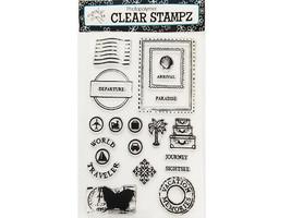 Hampton Art Junkitz Destinations Clear Photopolymer Stamp Set #CS4311