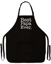 ThisWear Best Papa Ever Funny Apron for Kitchen BBQ Barbecue Cooking Bak... - $23.09
