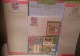 Kitchen Recipe Card Collection Set List Pads Magnet, Recipe Holder & Car... - $13.98