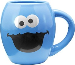 Vandor Sesame Street Cookie Monster 18 Oz. Oval Mug 32362 - $13.84