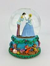 "Disney Enesco Cinderella Snow-Globe '12 Days Of Christmas' Music Box 6"" Tall - $31.20"