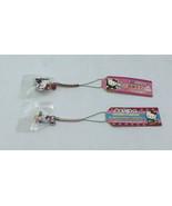 Sanrio Hello Kitty Netsuke Charm Strap Gotochi Onsen Meguri Hot Springs ... - $24.93