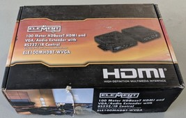 JO Element-Hz HDBaseT HDMI and VGA Extender over Cat5e/6 RS232/IR Contro... - $186.99