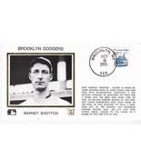 BARNEY SHOTTON BROOKLYN DODGERS BROOKLYN, NY OCTOBER 9 1995 Z SILK - $2.68
