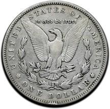 1894 MORGAN SILVER $1 DOLLAR Coin Lot# A 363 image 2