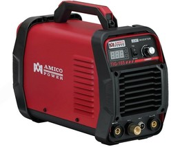 AMICO POWER Welding Machine 160 Amp TIG Torch/Stick/ARC DC Inverter Welder - $244.65