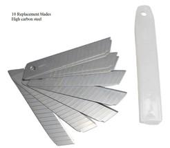 Riyefa Box Cutter Breakaway Knife Heavy Duty replacement blades 10 pack - $5.89