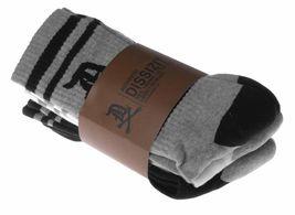 Dissizit! 3 Paquete De Inglés Antiguo D X De Huesos Blanco Gris Negro Crew Socks image 5