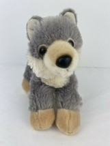 "Aurora Wolf Husky Dog Plush 8"" Long Stuffed Animal Toy 2018  - $13.85"