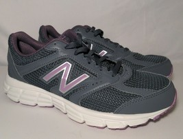 New Balance Women's Athletic Running Shoes 460v2 Size 7 Grey Pink W460SL2 EUC - $29.99
