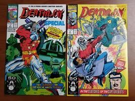 Deathlok #1, #2 Comic Books Marvel  - $9.88