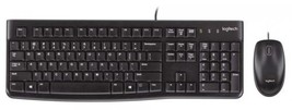 Logitech Desktop MK120 Durable, Comfortable, USB Mouse and keyboard Combo - $27.92 CAD