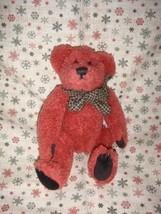 Boyds Bear Toe Red Plush Bear - $11.49