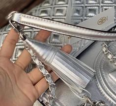 Tory Burch Fleming Metallic Convertible Shoulder Bag image 6