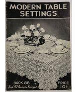 Modern Table Settings Book No. 88 The Spool Cotton Company - $2.99