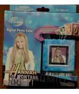 Disney Hannah Montana Digital Photo Cube - Up To 70 Photos - BRAND NEW I... - $19.79