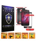 Motorola Z2 Force - Two Tone Black Carbon Skin,Full Body Case Cover Prot... - $9.99