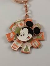 Disney 2020 Flower And Garden Festival Mickey Spinner Keychain - $14.99